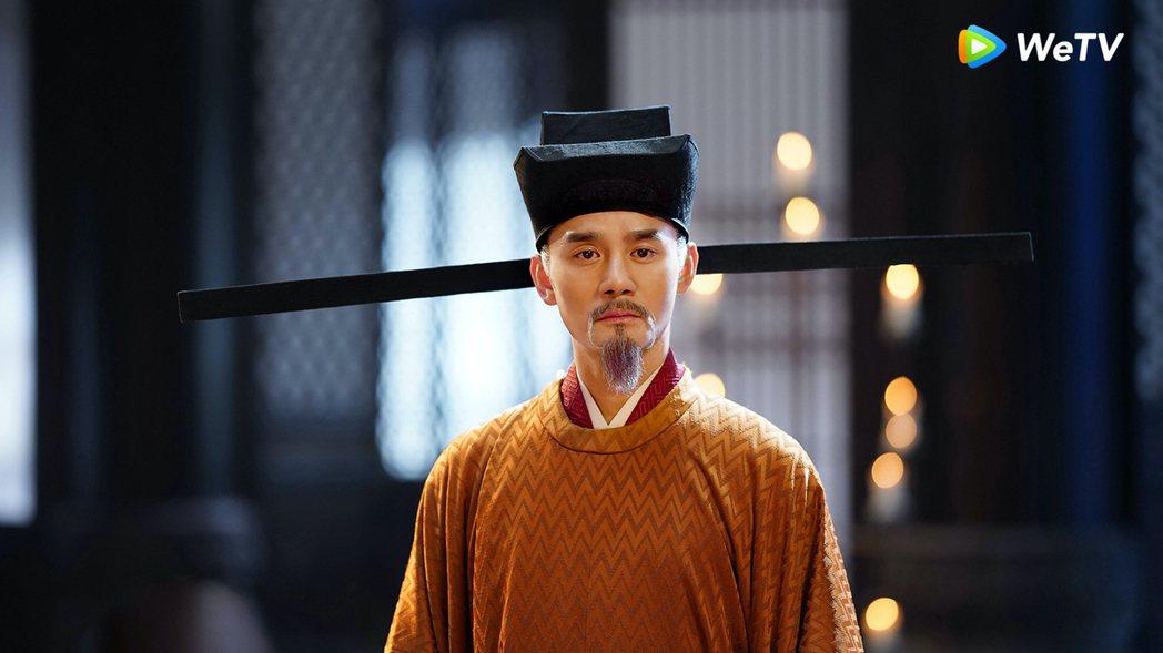 王凱打趣說自己是第一個演出正經八百宋仁宗的人。圖/WeTV提供