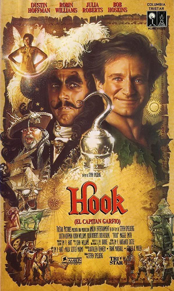 「虎克船長」是史蒂芬史匹柏執導、眾星雲集的大片。圖/摘自imdb