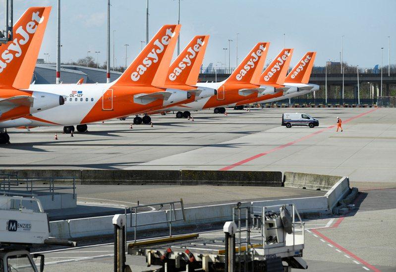 英國廉航易捷航空900萬名客戶個資被駭。(路透)