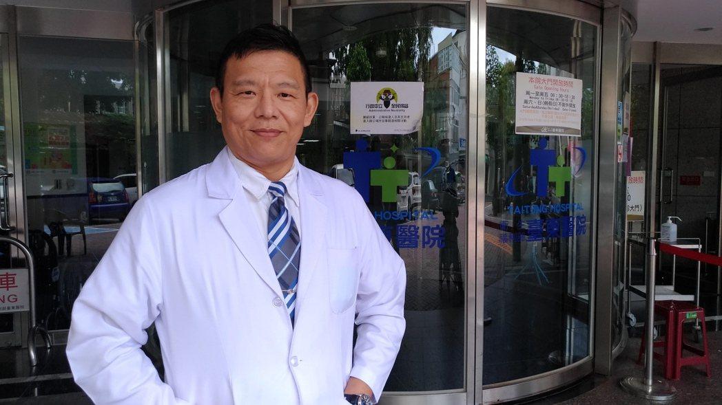 衛福部台東醫院骨科醫師陳俞志說,要治療後天性長短腳,必須先確認長短腳問題,才能對...