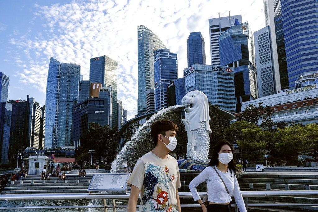 新加坡6月2日起分三階段恢復正常生活。 美聯社
