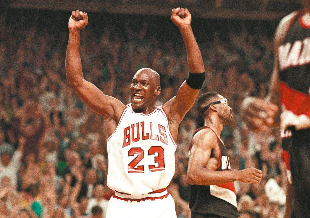 Michael Jordan在90年代曾經為芝加哥公牛隊拿下6次NBA總冠軍。 ...