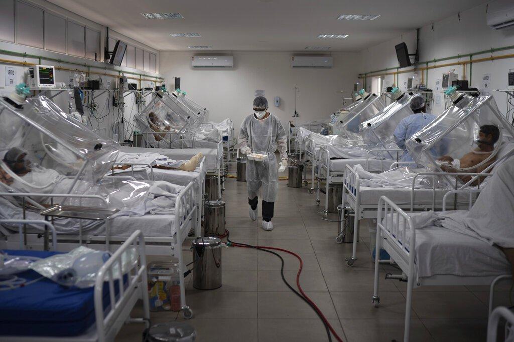 WHO:南美洲已成2019冠狀病毒疾病新中心