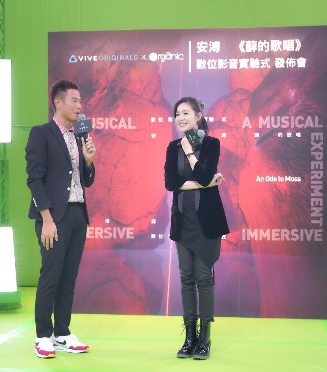HTC VIVE ORIGINALS日前首度對外公開攝影棚及安溥《蘚的歌唱》XR...