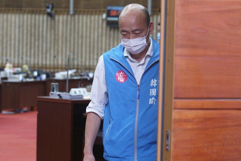 在罷韓投票進入最後的衝刺階段,高雄市長韓國瑜及其市府團隊,直接示範了行政失職的壞榜樣。 圖/聯合報系資料照