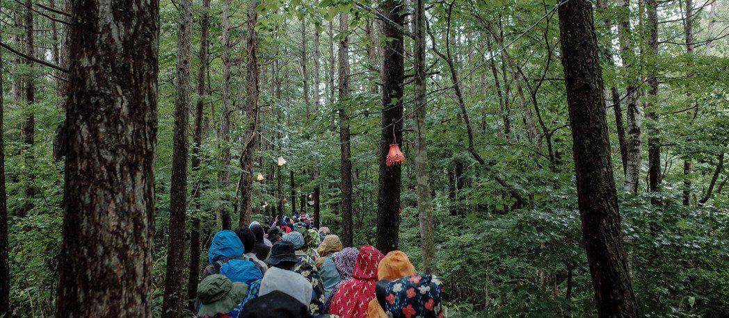 在山林移動之間都充滿發現,這就是戶外音樂祭才有的魅力。 圖/張哲惟拍攝