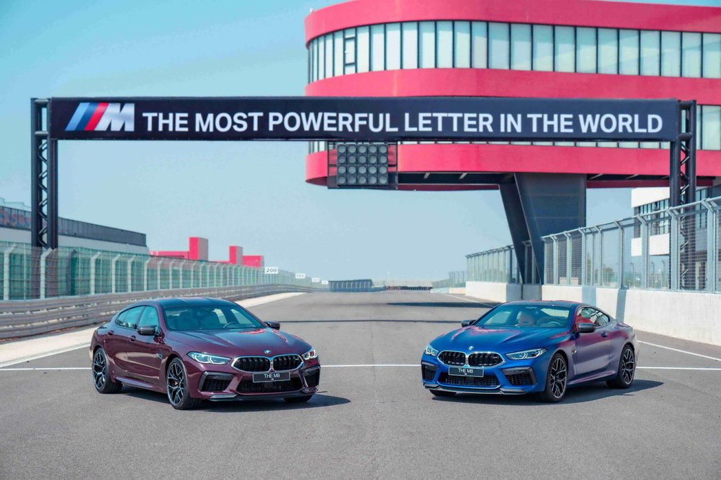 地表最強 全新BMW M8 Coupe與M8 Gran Coupe強悍登場。 圖...