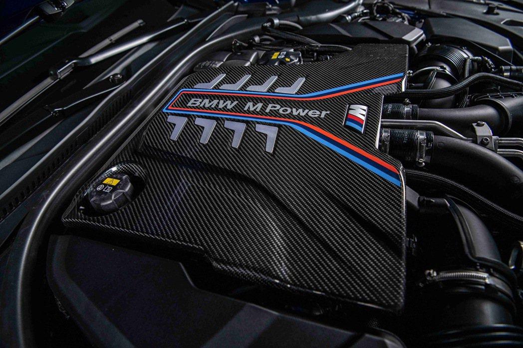 由BMW M GmbH專屬調校的最強心臟M TwinPower Turbo S6...