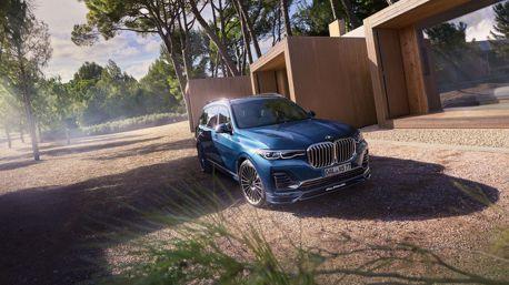 影/等不到BMW X7 M沒關係 Alpina推出超過600匹性能巨獸全新XB7!