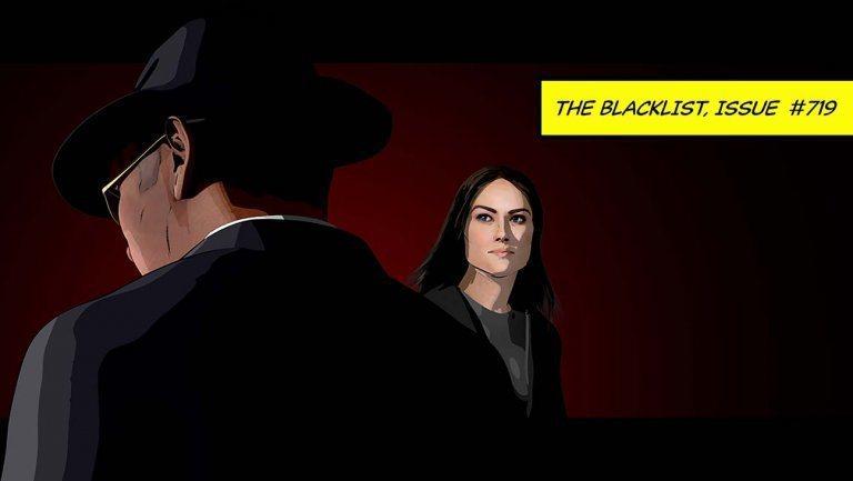 美劇《諜海黑名單》劇組因疫情停擺,只好用動畫來呈現第七季的完結篇。(Photo from網路截圖)