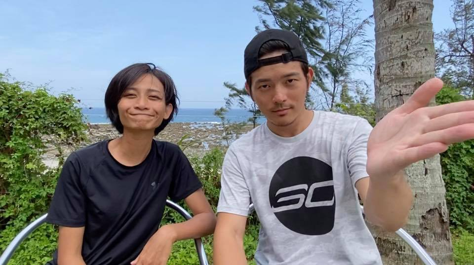 宥勝發千字文護妻。圖/摘自臉書