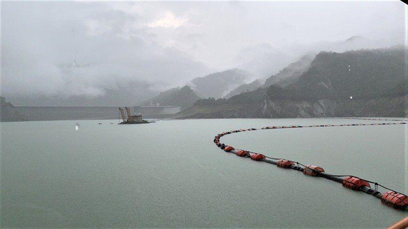台南曾文水庫這波梅雨鋒面降雨進帳不多。圖/南區水資源局提供(資料照)