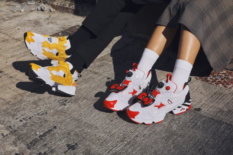 Hello Kitty、蛋黃哥與Reebok的Instapump Fury聯名鞋...