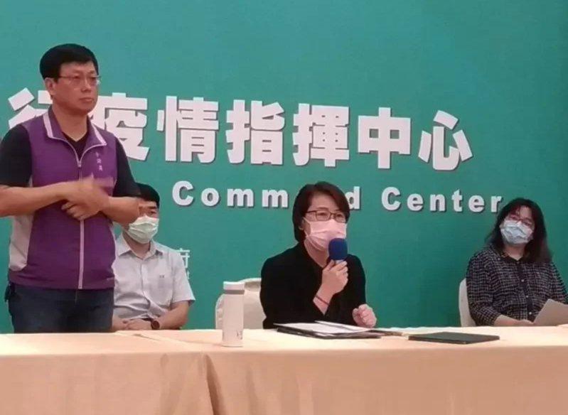 中央流行疫情中心指揮官陳時中昨在記者會上預祝台北市成功。對此,台北市副市長黃珊珊回應,謝謝部長的祝福。圖/本報資料照片。