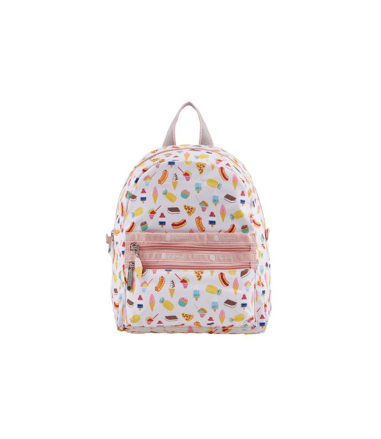 夏日情懷拉鍊口袋後背包,3,400元。圖/LeSportsac提供
