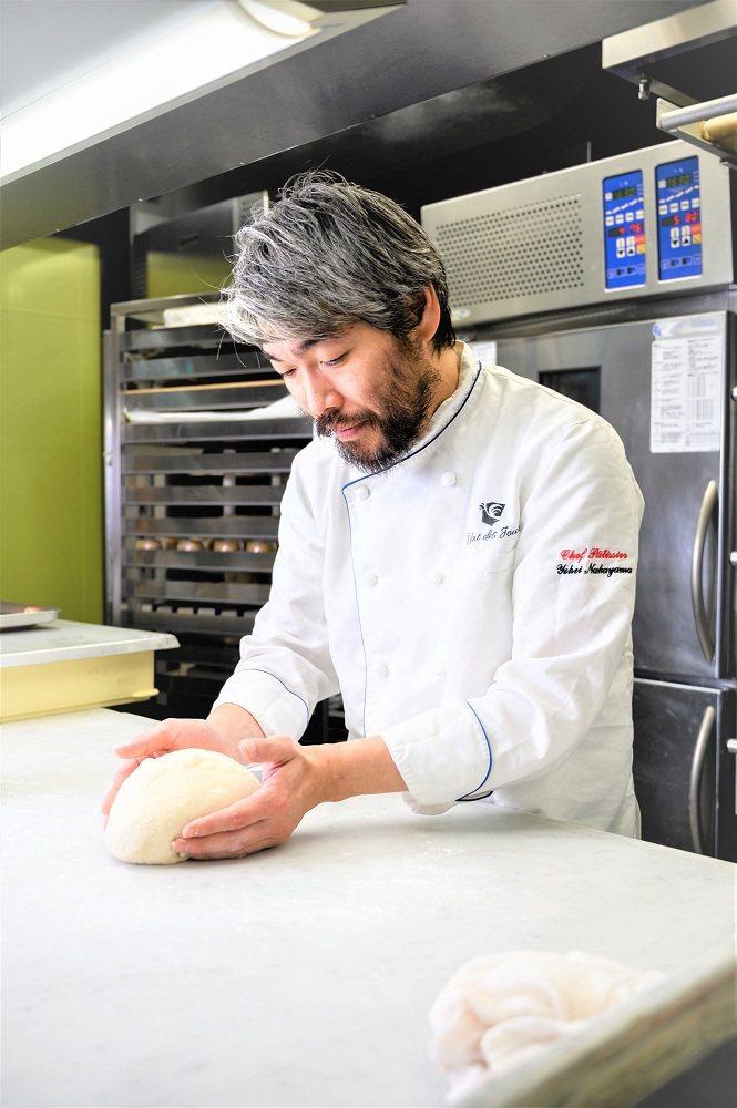 全聯力邀日本烘焙達人中山洋平合作開發獨家生吐司。圖/全聯福利中心提供