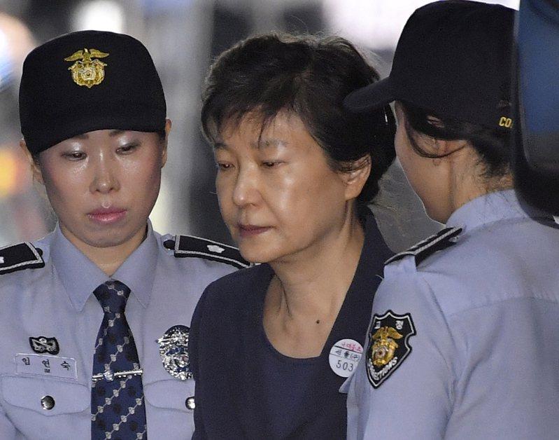 朴槿惠20日遭南韓檢方求處35年有期徒刑。歐新社