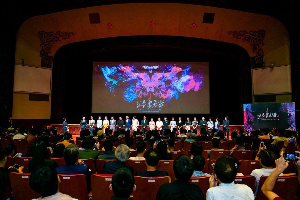 歷屆台北電影節於臺北市中山堂的放映工程皆由江泰暾量身打造。圖/台北電影節提供