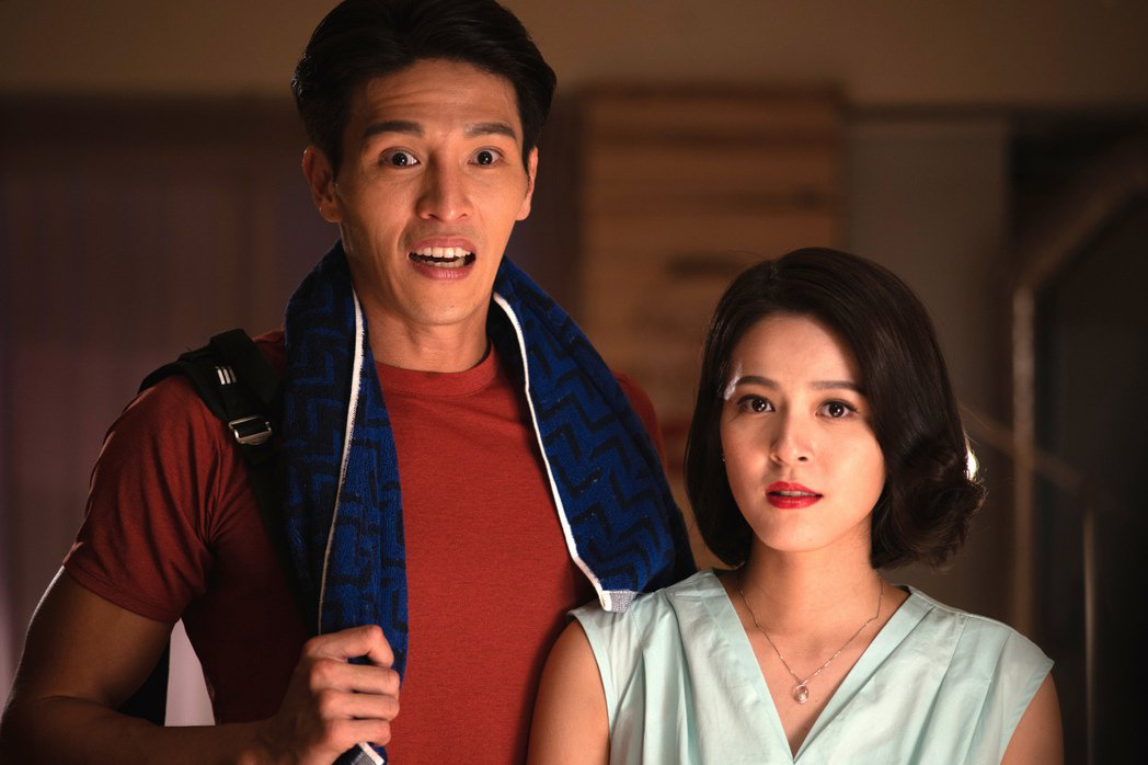蘇晏霈(右)覺得和陳禕倫對戲感受很舒服。圖/公視提供
