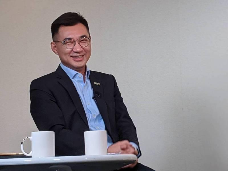 國民黨主席江啟臣。 本報資料照片