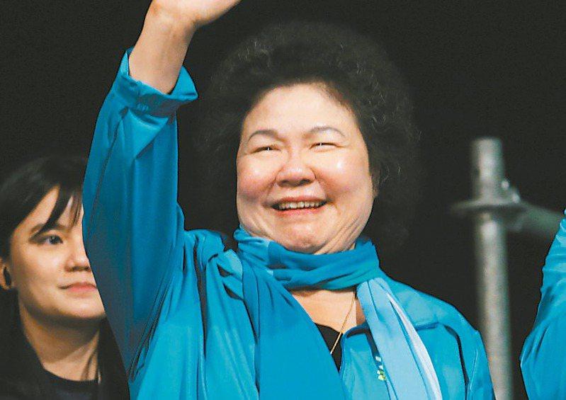 原總統府秘書長陳菊傳將接任監察院長,但因黨派色彩而遭質疑。 圖/聯合報系資料照片