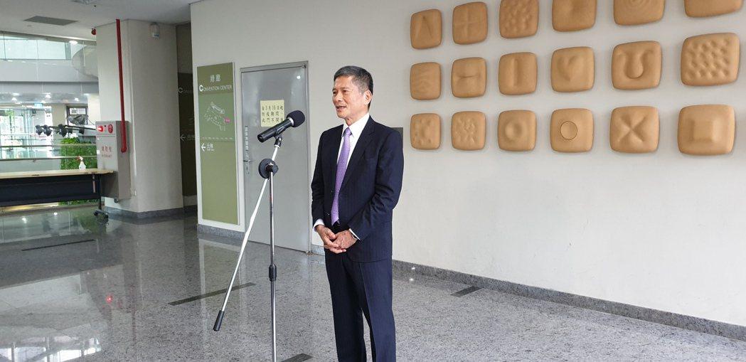 新任文化部長李永得。聯合報系記者陳宛茜/攝影