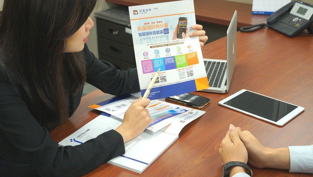 凱基證券理財專員提供投資人特別股相關商品資訊。 凱基證券/提供