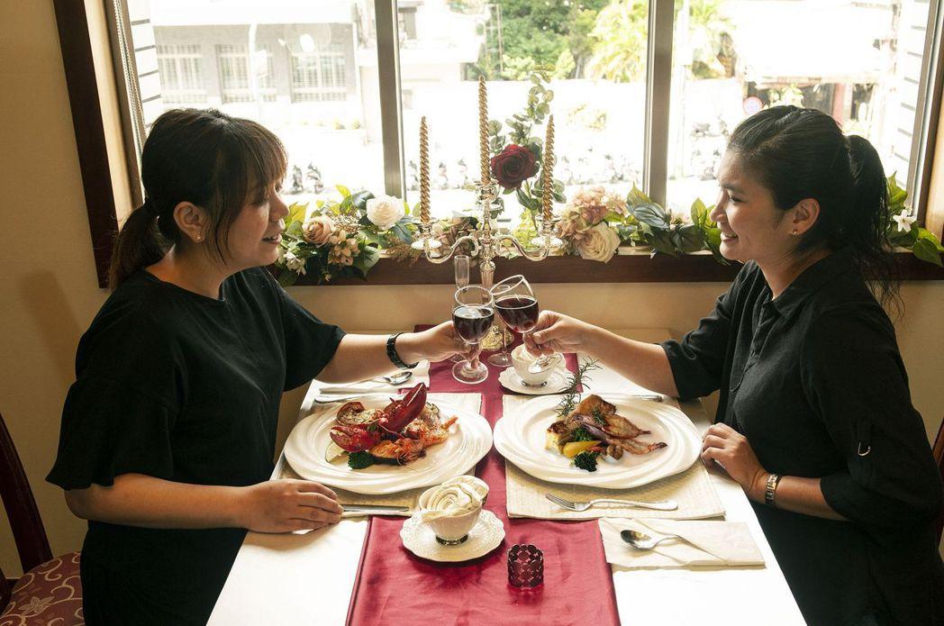 半自助式套餐-可同時享用精緻套餐和自助吧。  台南大飯店 提供