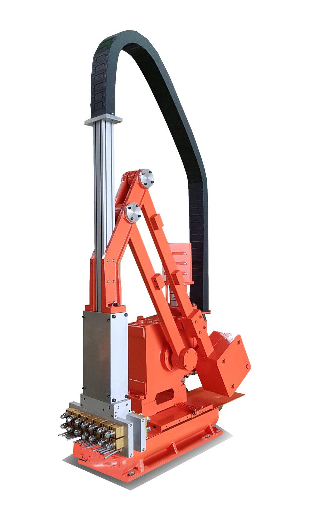 永大機械SPV-N伺服型噴霧機。 業者/提供。