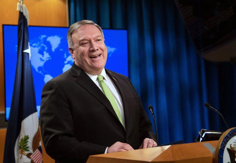 美國國務卿龐培歐敦促北京重新考慮其災難性提議,尊重香港的自治、民主與公民自由。 美聯社
