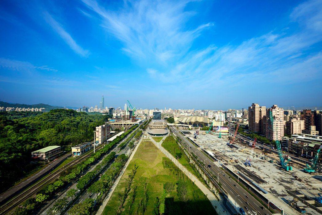看好南港的經濟重要戰略位置,地產增值空間可期。 業者/提供