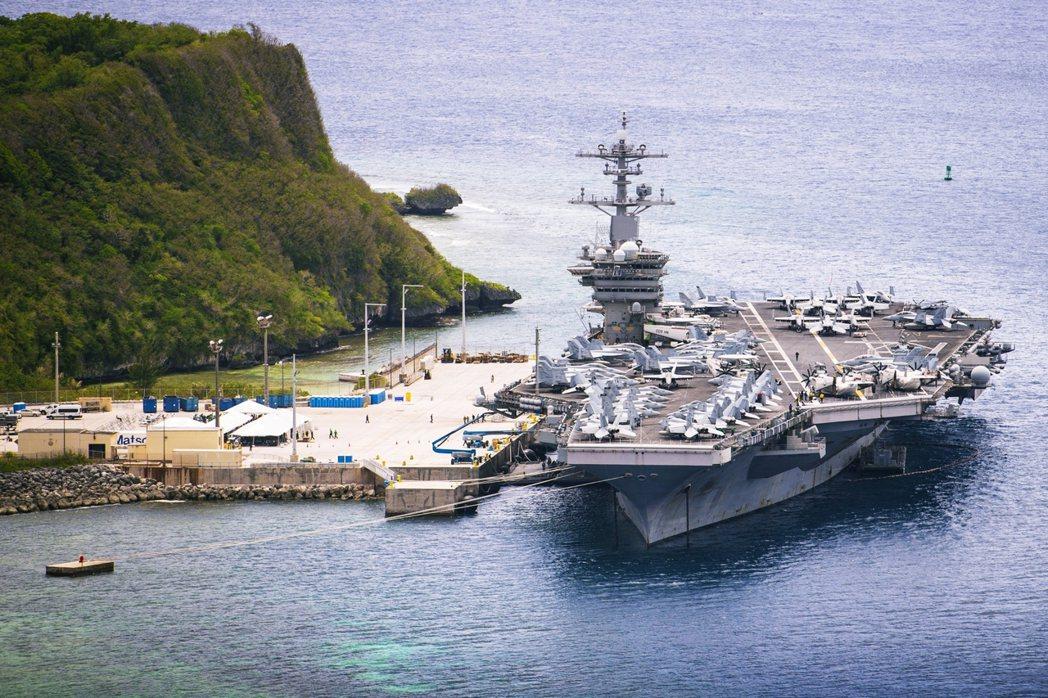 兩個月前染上武漢肺炎的美國海軍核動力航空母艦——羅斯福號(CVN-71)——21...