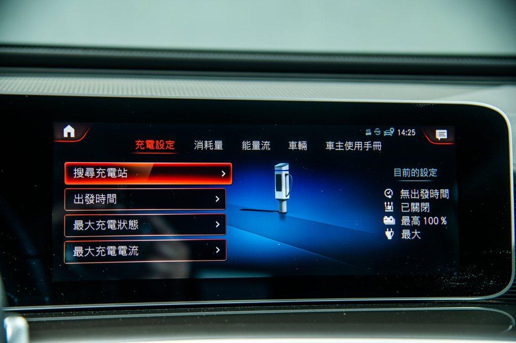 新開發的Mercedes me Charge程式支援繁體中文化,使用上十分就手。...