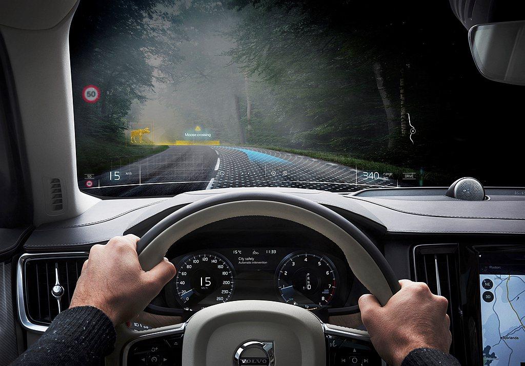 Volvo Cars認為當車輛超過一定速度時,車內安全技術與防護科技,已經無法避...