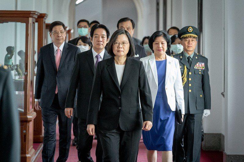 蔡英文總統第二任期的就職演說,為台灣未來四年處理兩岸問題的指標。 圖/總統府 Flickr