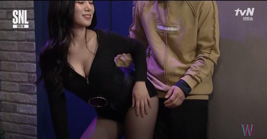 Berry Good祚弦2016年參加「SNL」。圖/擷自YouTube