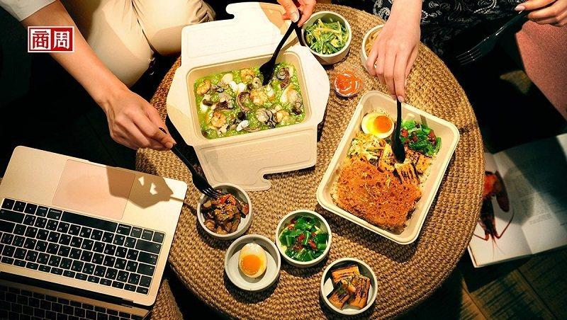 宅經濟當道,享受美食無須上館子,豐盛的外帶餐盒,成了居家新選擇。(攝影者.程思廸)