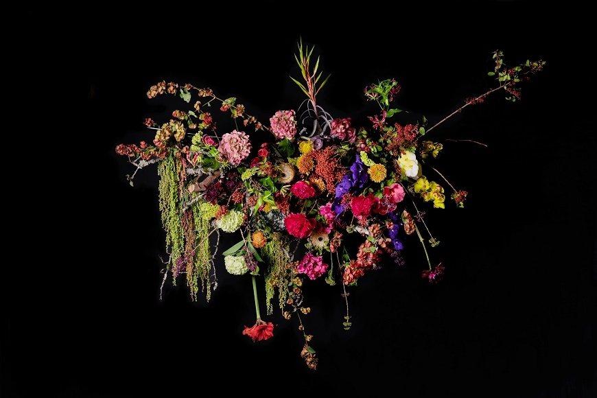 凌宗湧為新書《每日美日》設計的花藝作品,融入世界各地的花草素材,自然呈現四季變換...