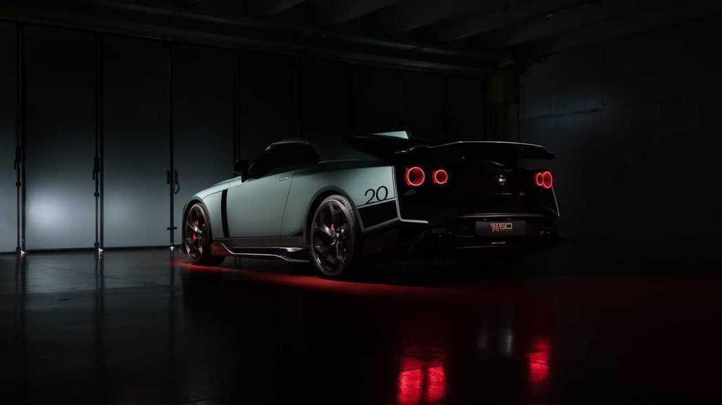Nissan GT-R50 by Italdesign。 摘自Nissan