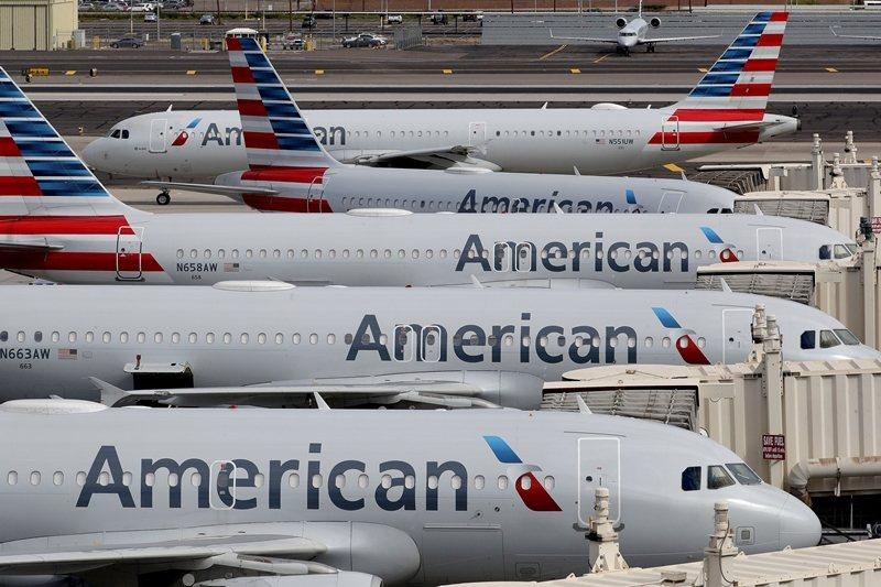 首先要解決的,是如何避免飛機成為病毒傳播的載體。 圖/美聯社