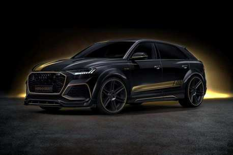 覺得Audi RS Q8已經很強了嗎? 不,Manhart操刀版本直逼900匹!