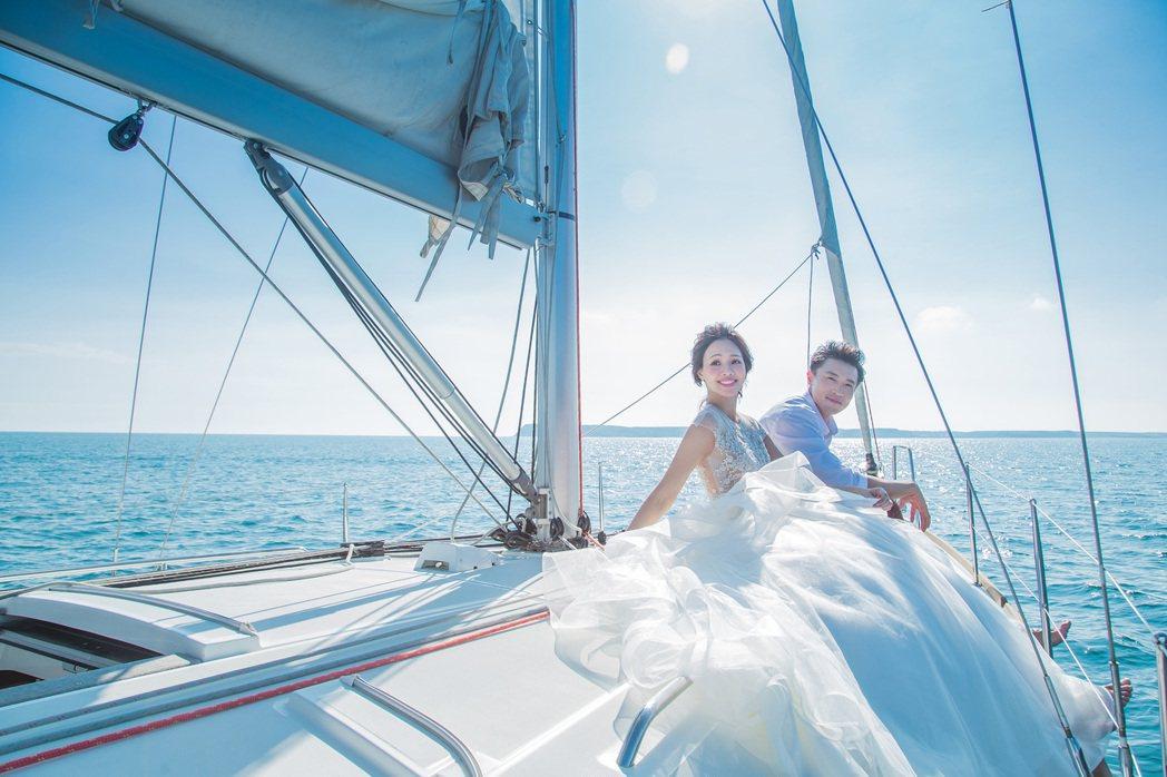 海島婚拍。 澎湖福朋喜來登酒店/提供。