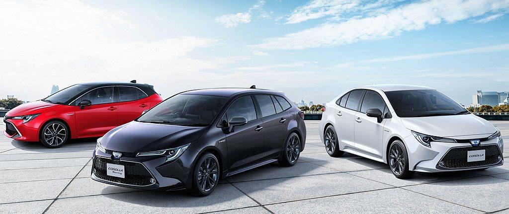 不過只有第一、第二有維持亮眼的銷售成績,受疫情影響自第三名之後的Toyota S...