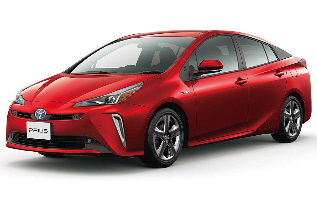 至於過往熱賣的Toyota Prius,則滑落到第九名且出現57.8%的銷售衰退...