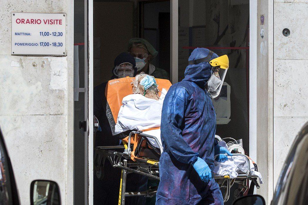 一份最新研究顯示,在義大利傳出疫情前,去年底今年初病毒可能已在境內擴散。圖為義大...
