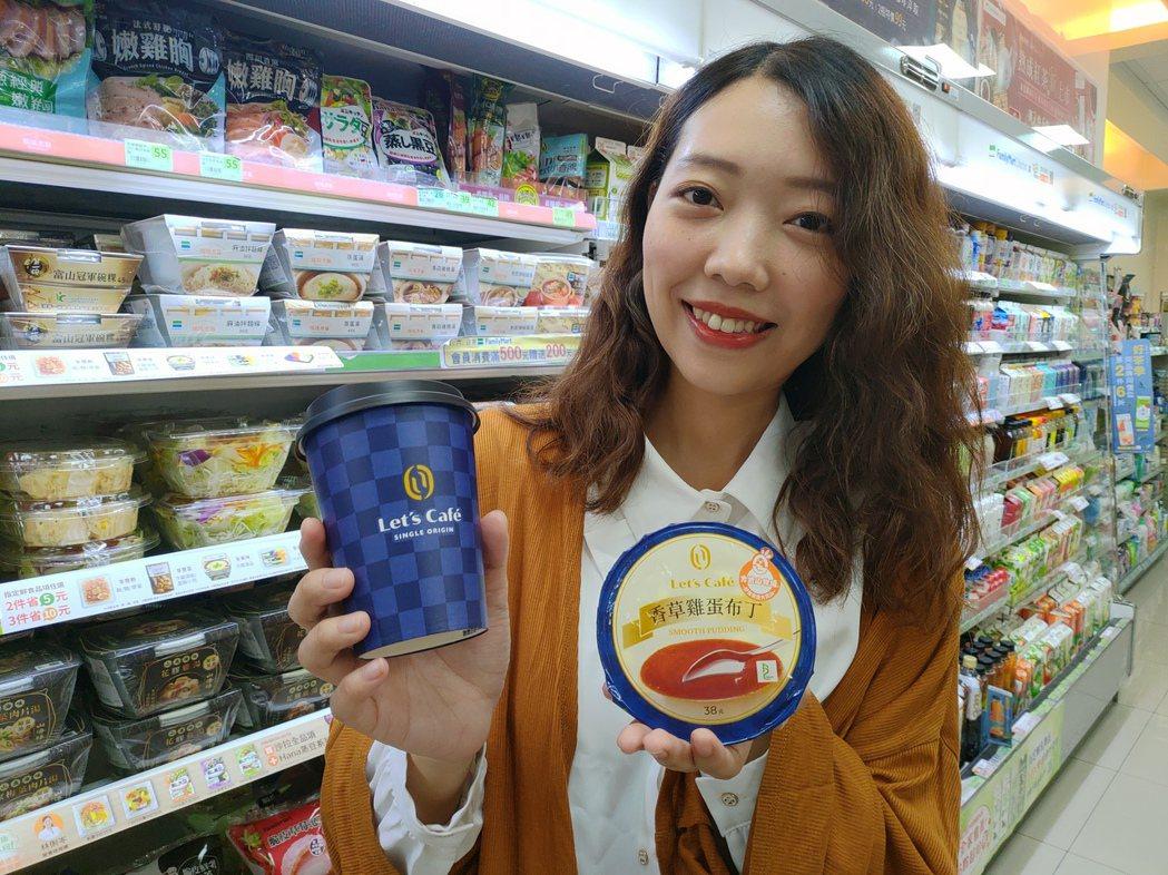 全家將甜點品牌sweet+與 Let's Café整合,未來新品將朝可搭配咖啡為...