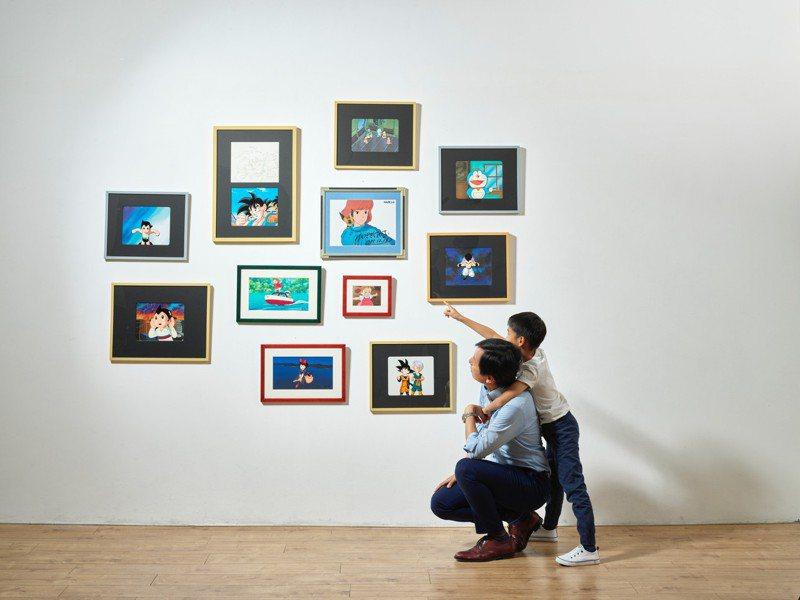佳士得「童心未泯:亞洲當代藝術」即日起至6月5日止開放競標,推出多位最炙手可熱的當代藝術大師充滿純真童趣的作品。圖/佳士得提供