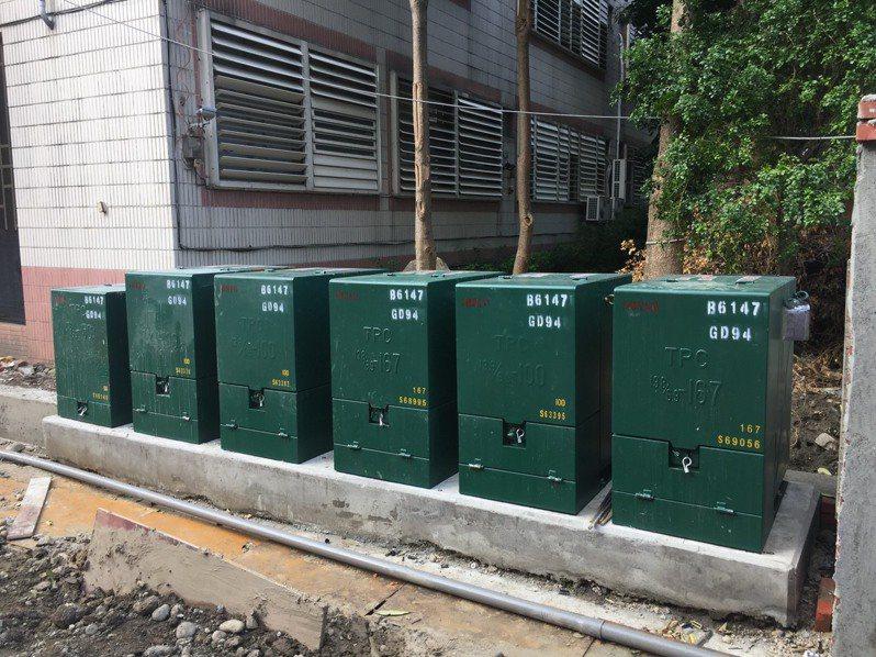 變電箱是街頭常見的電力設施,全台有139萬個,但很顧人怨。圖/新北市政府提供