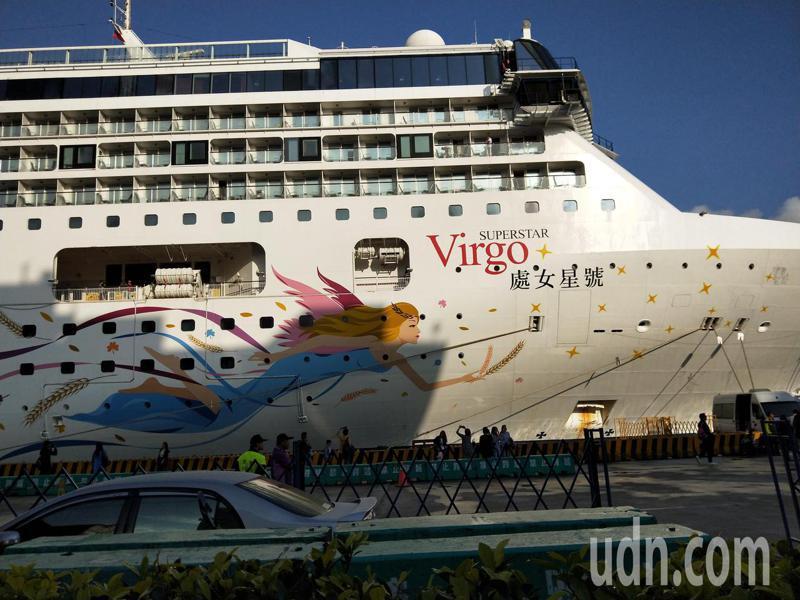 基隆港今年原有650艘郵輪航次,但至今只有42艘,林右昌:爭取中央研議跳島遊程。記者游明煌/攝影