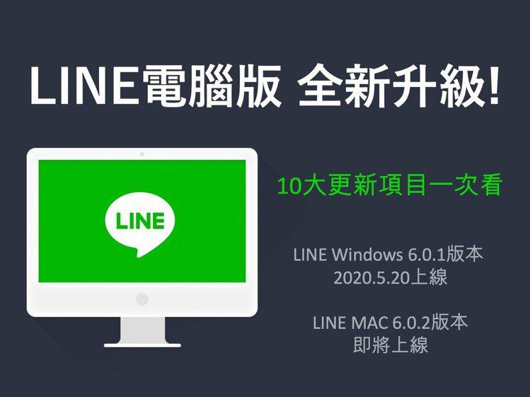 LINE電腦版10大升級,功能介面變更貼心順手。圖/摘自LINE台灣官方部落格